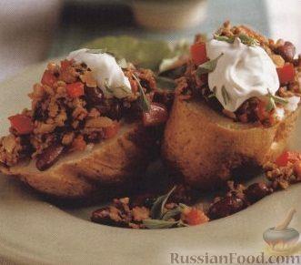 Рецепт Печеный картофель с мясным соусом