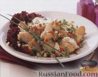 Фото к рецепту: Картофельный салат с хеком