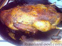 Фото к рецепту: Жареная утка с айвой