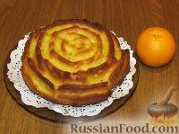 """Фото к рецепту: Кекс """"Апельсиновый"""""""