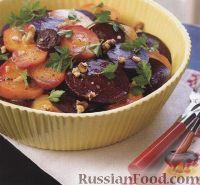 Фото к рецепту: Салат из печеной свеклы