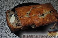 Фото к рецепту: Бананово-ягодный кекс