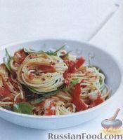 Фото к рецепту: Спагетти с креветками