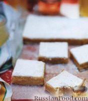 Фото к рецепту: Лимонные коржики с кокосовой стружкой