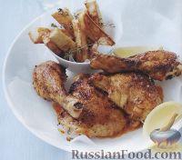 Фото к рецепту: Курятина, приготовленная в духовке