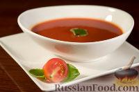 Фото к рецепту: Томатный острый суп