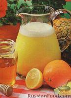 Фото к рецепту: Фруктово-медовый пунш