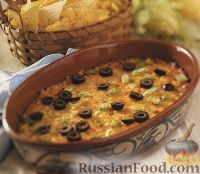 Фото к рецепту: Кукурузная запеканка с сыром и чили
