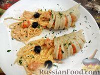 Фото к рецепту: Паста с морепродуктами