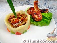 Фото к рецепту: Куриные голени гриль