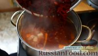 Фото приготовления рецепта: Борщ - шаг №12