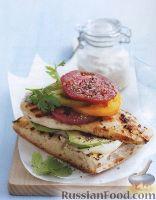 Фото к рецепту: Бутерброд с куриным филе