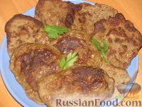 Фото к рецепту: Печёночные котлетки