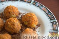 Фото к рецепту: Морковные сладкие шарики