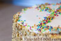 """Фото к рецепту: Торт """"Воздушный сметанник"""""""