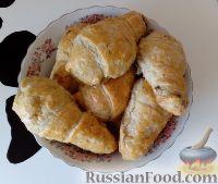 Фото к рецепту: Куриные ножки в слоеном тесте