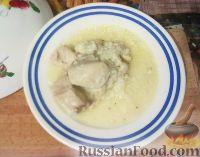 """Фото к рецепту: Мясо """"эконом"""", тушенное в рисе"""