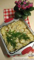 Фото к рецепту: Картофельная запеканка с курицей
