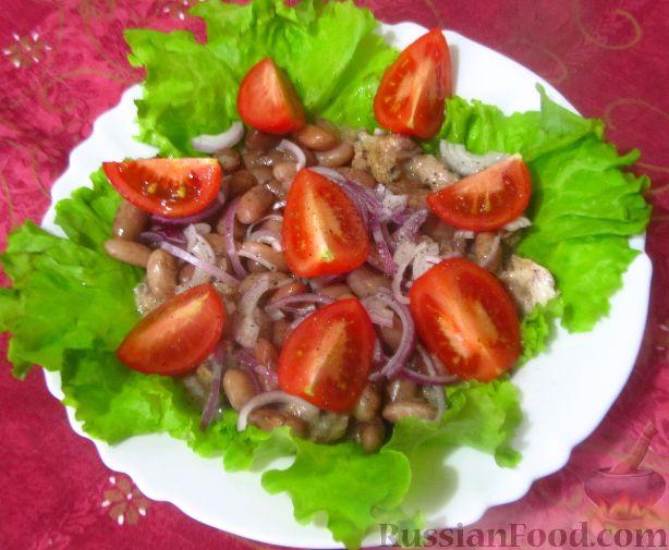 рецепт грузинский салат с помидорами и