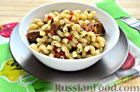 Фото к рецепту: Макароны, жаренные с овощами