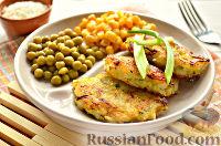 Фото к рецепту: Постные рисовые котлеты с кабачком