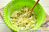 Фото приготовления рецепта: Постные рисовые котлеты с кабачком - шаг №8
