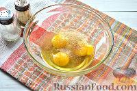 Фото приготовления рецепта: Макароны с яйцом - шаг №4