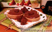 Фото к рецепту: Мягкое печенье с корицей и шоколадным пудингом