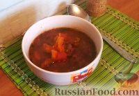 Фото к рецепту: Суп с курицей и фасолью