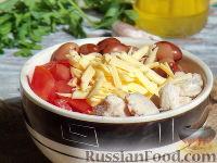 Заготовки на зиму с кабачками с томатной