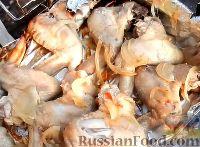 Фото к рецепту: Куриные крылышки на мангале (в фольге)