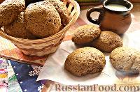 Фото к рецепту: Пряники шоколадно-ванильные
