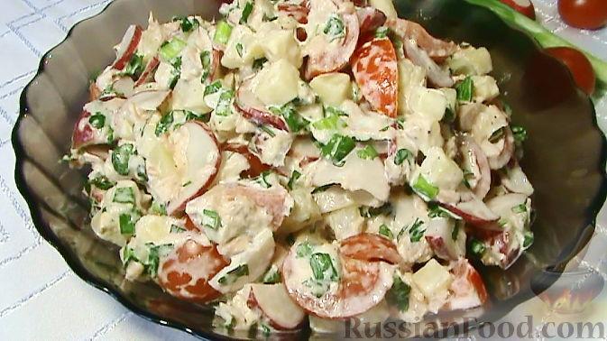 Фото приготовления рецепта: Картофельная запеканка с мясным фаршем, грибами и сыром - шаг №11