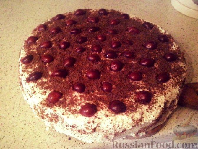 видео рецепт торта пьяная вишня от бабушки эммы