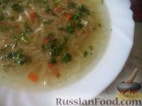 Фото к рецепту: Суп овощной с сельдереем