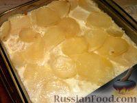 Фото к рецепту: Картофель с яйцом и молоком
