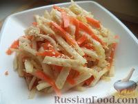 Фото к рецепту: Салат из редьки по-корейски