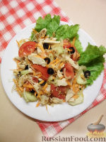 Фото к рецепту: Салат с куриным филе