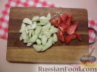 Фото приготовления рецепта: Салат с куриным филе - шаг №2