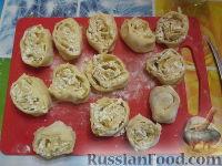 """Фото приготовления рецепта: """"Штрудель"""" с картофелем и мясом - шаг №3"""