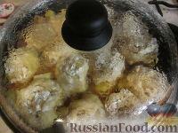 """Фото приготовления рецепта: """"Штрудель"""" с картофелем и мясом - шаг №7"""