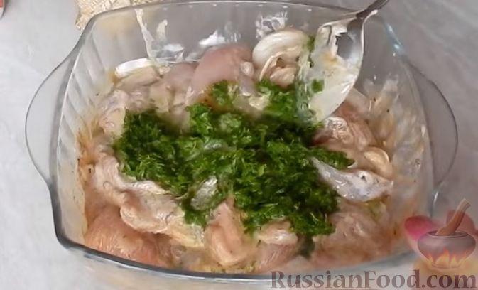 рецепт приготовления курицы в духовке кусочками