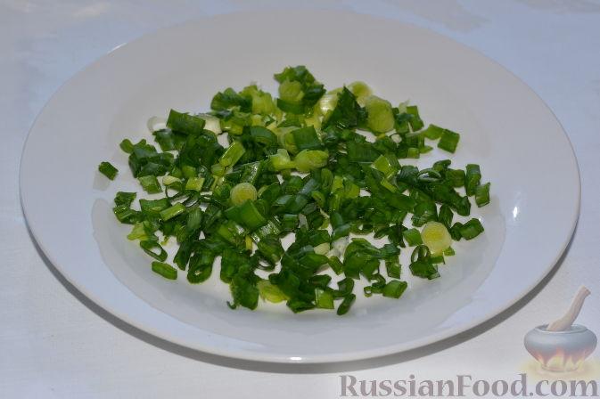 Рецепт: Салат из пекинской капусты, со свежим огурцом и ...
