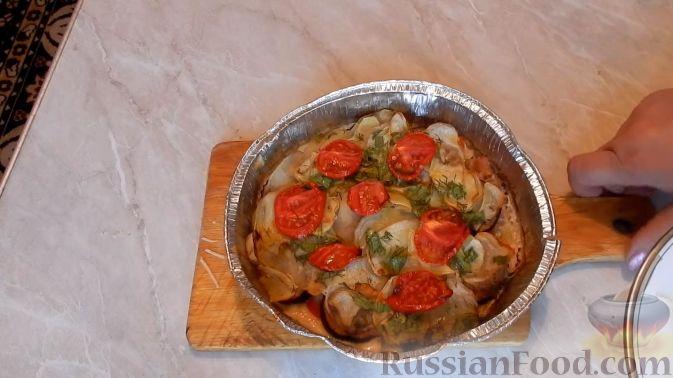 грудка индейки с овощами в духовке рецепт