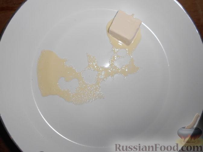 Фото приготовления рецепта: Шоколадный брауни с вишней (постный) - шаг №4