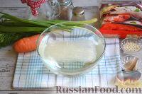 Фото приготовления рецепта: Фунчоза с курицей и овощами - шаг №2