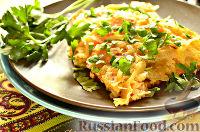 Фото к рецепту: Мандирмак (овощи с яйцом на сковороде)