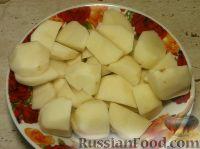 Фото приготовления рецепта: Мясо тушеное с картофелем - шаг №6