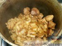 Фото приготовления рецепта: Мясо тушеное с картофелем - шаг №7