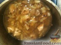 Фото приготовления рецепта: Мясо тушеное с картофелем - шаг №8